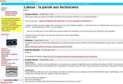 Adiu - Le labour - Vignette