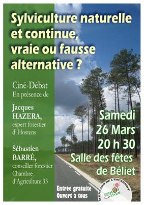 Affiche 26 mars