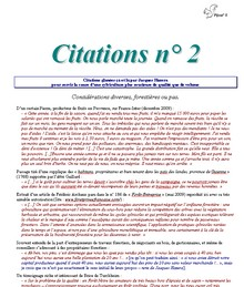 Citations n° 2 - Vignette