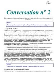 Conversation n° 2 - Vignette