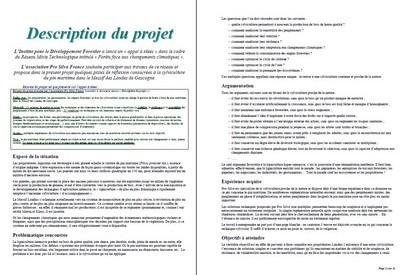 Description du projet (Pro Silva - RMT) - Vignette