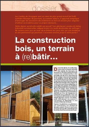 La construction bois, un terrain à (re)bâtir - Vignette