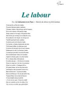 Le labour - Vignette
