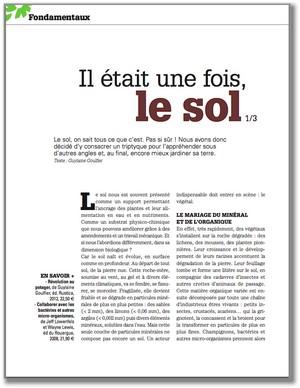 Les Quatre Saisons du Jardinage Bio - Le Sol 1 - Vignette