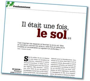 Les Quatre Saisons du Jardinage Bio - Le Sol 2 - Vignette