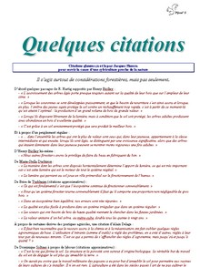 Quelques citations - Vignette