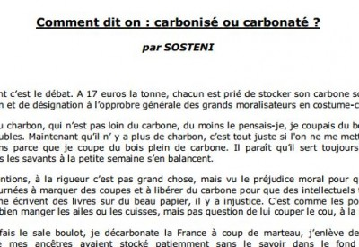 Comment dit-on... - Vignette 2