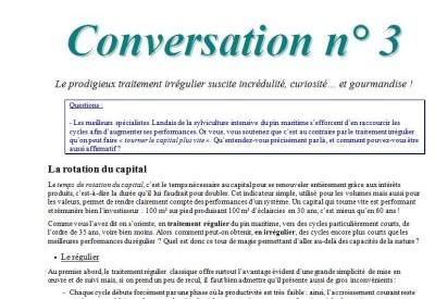 Conversation n° 3 2 - Vignette