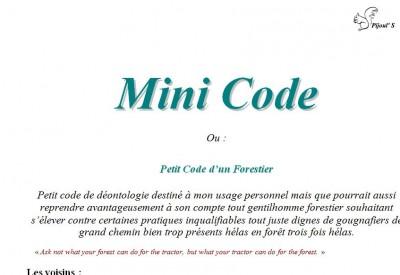 Mini Code - Vignette 2