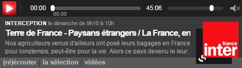 Paysans étrangers installés en France - Vignette