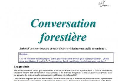 Conversation forestière - Vignette 2