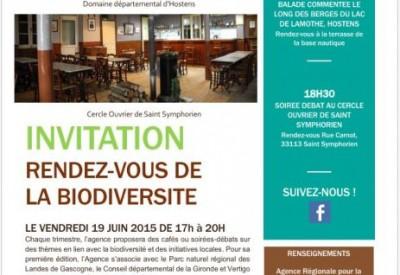Invitation - Rendez-vous de la biodiversité - Vignette
