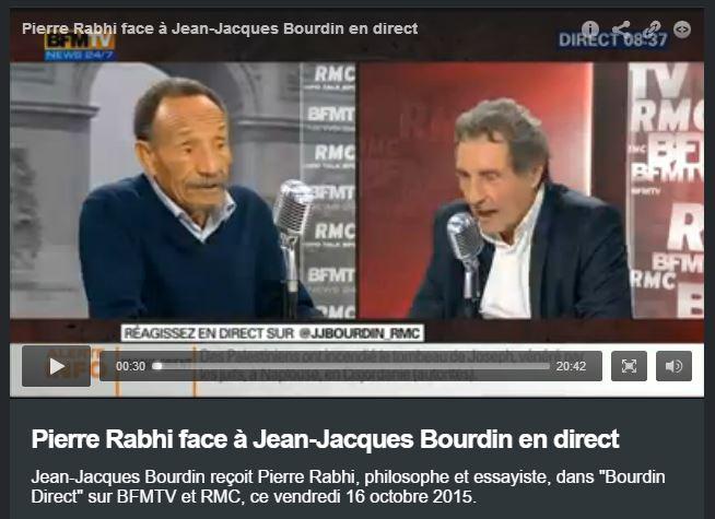 Pierre Rabhi chez Bourdin - Vignette