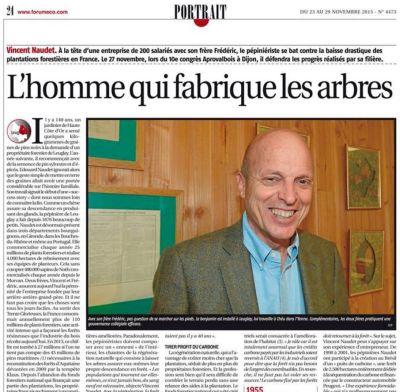 ForumÉco - Vincent NAUDET - Portrait - Vignette