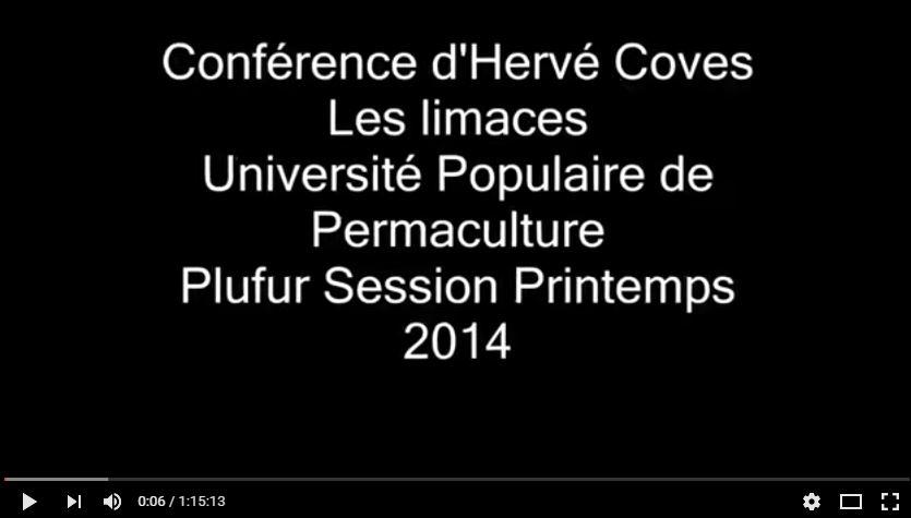 Hervé Covès - Les limaces - Vignette