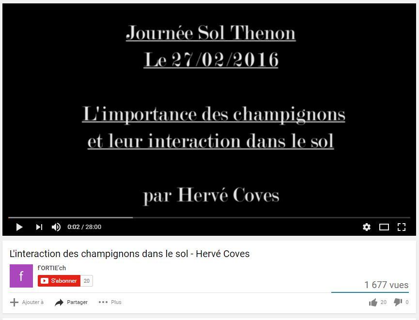 Hervé Covès - Les champignons et leurs interactions - Vignette