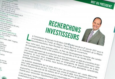 Recherchons investisseurs - Vignette