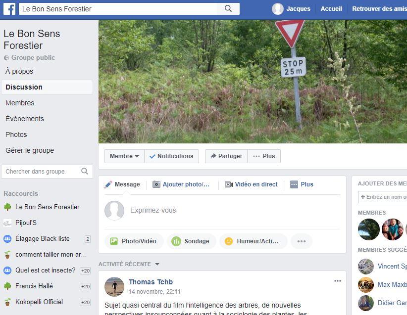 Facebook - Le Bon Sens Forestier - Vignette