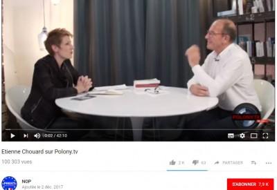Natacha POLONY reçoit Étienne CHOUARD - Vignette