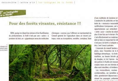 Pour des forêts vivantes, résistance ! - Vignette