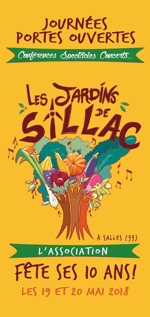 Jardins de Sillac - Recto - Vignette